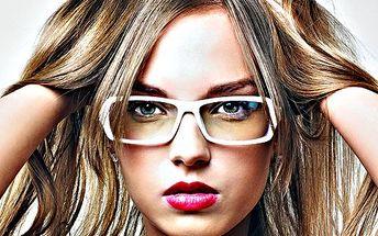 Kompletní nové brýle! Obroučky, samozabarvovací čočky a věhlasné značky!