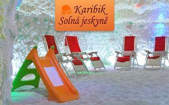 99 Kč za DVĚ návštěvy solné jeskyně Karibik. Regenerace organismu, příjemný odpočinek a vzduch jako od moře přímo v Karlových Varech. HyperSleva 67 %.