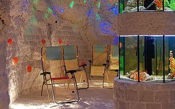 Skvělých 49 Kč za 45 minut v solné jeskyni! Solná jeskyně PERLA – relaxace s unikátním podmořským světem. Fantastická sleva 51 %!