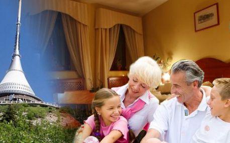 TIP NA MALEBNÉ LÉTO - poznávací pobyt 6 denní pro 2 osoby s dítětem zdarma v Hotelu Morris**** Česká Lípa v ceně na výběr z nabídky výletů ZOO, botanická zahrada a jiné