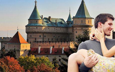Týdenní termální relax pro dva s polopenzí na Slovensku u romantického Bojnického zámku!