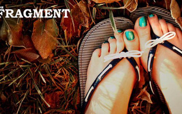 Připravte své nožky na léto! Pedikúra včetně lakování, relaxační masáž a peeling jen za 189 Kč s HyperSlevou 50 %! Ukažte hrdě své nohy v otevřených botách!