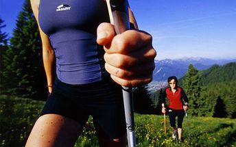 Trekingové hole s odpružením, sleva 56 %! Ideální na procházky v přírodě – ušetříte své klouby a až 30 % energie!