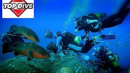 2 950 Kč týdenní kurz potápění pro začátečníky v Řecku či Itálii! Všem milovníkům vody a vodních sportů nabízíme možnost stát se soběstačným, plně vycvičeným a odpovědným potápěčem, který si bude moci v klidu a bez obav užívat krás tajemného a úchvatného podvodního světa. Sleva 63%!
