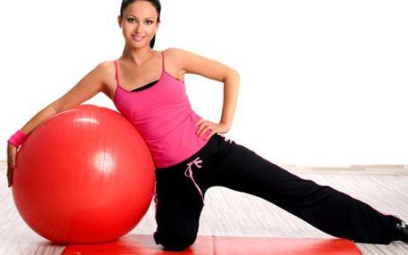 50 minut lekce Fitballu! Cvičením na velkých gymnastických míčích posílíte ochablé svalstvo a krásně protáhnete své tělo!!