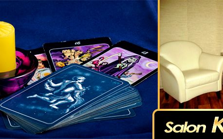 Hodinový osobní výklad karet od profesionální kartářky v Salonu KaJ se slevou 50%!