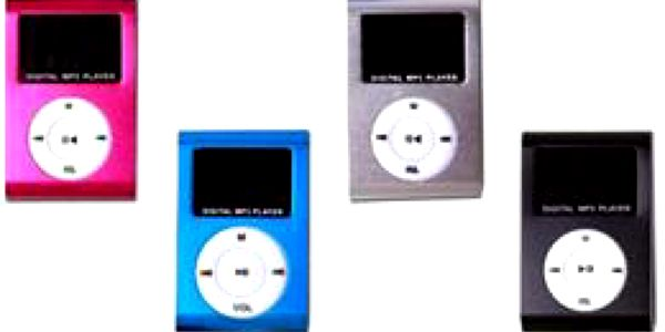 Mini MP3 přehrávač sLCD displejem včetně sluchátek a USB kabelu – tip na dárek nejen za dobré vysvědčení! Na výběr růžová, modrá, stříbrná nebo černá barva, možnost osobního odběru vPraze!