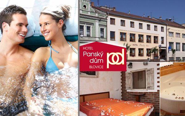 3 dny pro 2 osoby s vířivou vanou na pokoji a polopenzí v krásném hotelu Panský dům Blovice nedaleko Plzně jen za 2 290 Kč. Klidné prostředí je ideálním místem pro odpočinek. Zajímavé okolí pro výlety. Ideální pro rodinnou dovolenou!