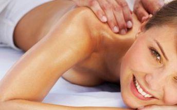 Jen 200 Kč za 30 min. holistickou aromaterapeutickou masáž v salonu Eden! Poukázky lze sčítat a prodloužit si tak masáž až na 90 minut!