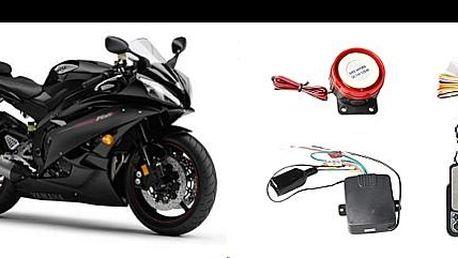 Vybavte svou motorku motoalarmem s dálkovým ovládáním, imobilizérem a dálkovým startem za pouhých 1 199 Kč včetně montáže, nyní se slevou 70%.