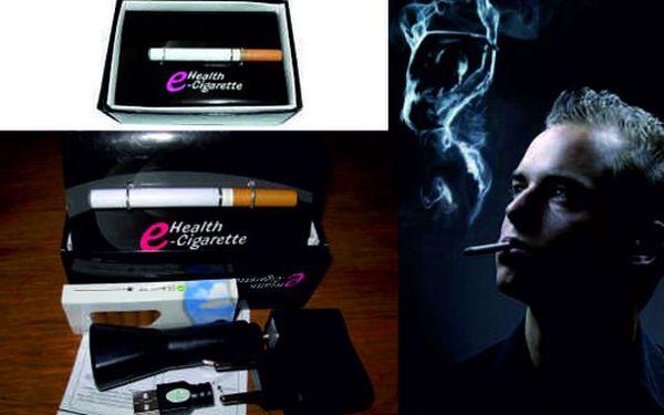 Zdravé kouření? Jen 219 Kč za kompletní sadu elektronické cigarety včetně 10 náplní,nabíječky a připojení k USB za nejnižší cenu