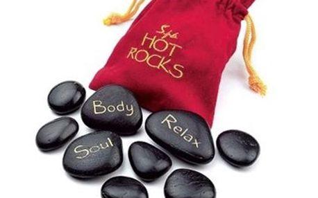 9 KAMENŮ Hot stones: terapie a příjemná relaxace 3 větší kameny a 6 menších kamenů, díky kterým můžete po nahřátí uvolnit a prohřát svaly a užít si relaxaci. Vhodné na bolesti pohybového aparátu, deprese a únavu.