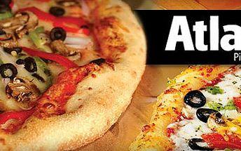 2 SKVĚLÉ PIZZY s 50% slevou jen za 139 Kč!! Navštivte známý a vyhledávaný bar Atlant v centru Olomouce!! Výběr z 35 druhů pizz!! 13 druhů točeného piva a 222 míst k sezení!!