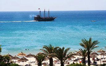 Tunisko letecky s ALL INCLUSIVE na 7 dnů. Oblíbený 3*+ hotel KHAYAM RESORT přímo na pláži. 3 bazény a AQUAPARK pro hotelové hosty ZDARMA
