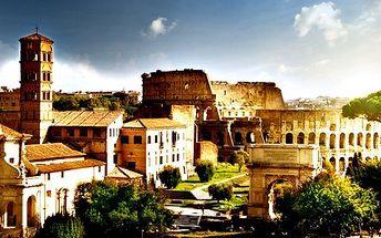 ČTYŘDENNÍ zájezd do Říma a Vatikánu v termínu 5. - 8.7 (státní svátky + víkend). Vyrazte za poznáním věhlasných památek!