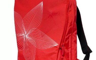 HÝČKEJTE svůj notebook i záda – stylový batoh BACKPACK značky GOLLA v červené a šedé barvě!