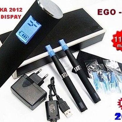 SADA 2 kusů elektronické cigarety eGo-C, 1100 mAh za úžasných 799 Kč! Nejlepší cigareta ze série eGo. Možnost výhry relaxačního pobytu!