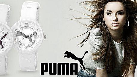 Sportovní hodinky Puma. Efektní unisex design, vysoce odolné materiály a 12 barev na výběr.