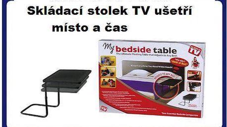 Skvělý Skládací mobilní stolek na notebuk Bedside table za 398 kč včetně poštovného