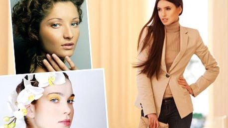 Kurz modelingu pro ženy! Splňte si svůj sen a staňte se modelkou! Osmihodinový kurz zahrnuje líčení, výuku chůze, focení!