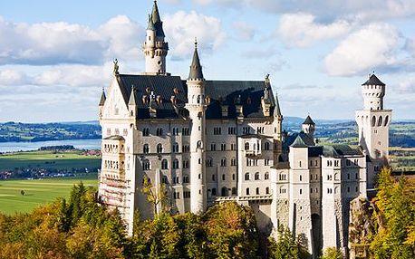 Bavorské královské hrady se slevou 45 %! Poznejte nejimpozantnější německé hrady a zámky a květinový ostrov Mainau!