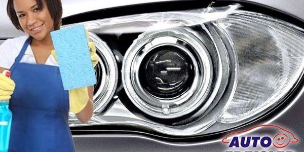 Levná a rychlá renovace světlometů za super cenu! Ušetřete za nákup nových světel!