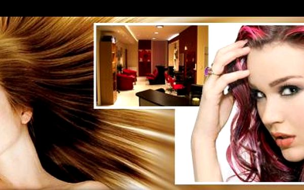 Profesionální péče o vaše vlasy s 60% slevou! Luxusní kadeřnický balíček s využitím vlasové kosmetiky L'Oréal: Mytí + střih + barva + foukaná a konečný styling!