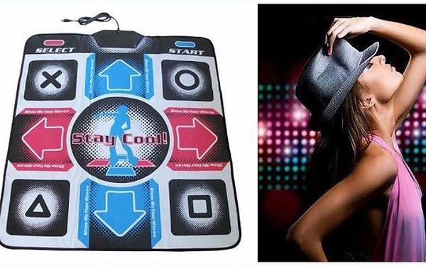 Elektronická taneční podložka extreme DancePad PC se slevou 43% za pouhých 339 Kč!! Svět moderního tance z pohodlí vašeho domova