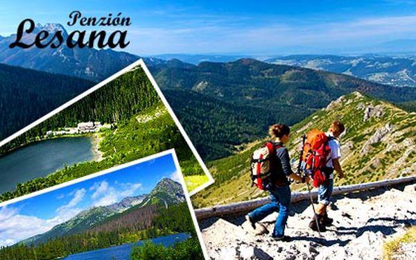 Vysoké Tatry pro dva s polopenzí a balíčkem plným slev na 3 nebo 6 dní – ideální poloha pro pěší túry, vstup do sauny a solné jeskyně pro 2 přímo v penzionu, 15% sleva na vstup do Aquacity ...