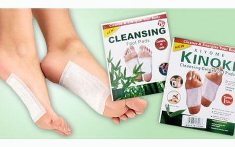 DETOXIKAČNÍ NÁPLASTI Kinoki za cenu, která nemá konkurenci! Pouhých 39 Kč!!! Využijte slevy 61% a získejte tyto skvělé náplasti, které Vám pomohou detoxikovat organismus.
