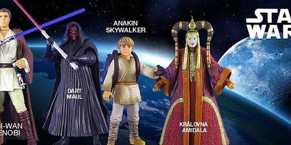 Originální postavičky ze Star Wars Epizody I. Darth Maul, Obi-Wan Kenobi, královna Amidala, Anakin Skywalker a další. Nechť vás provází síla!