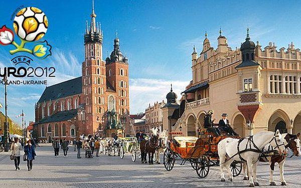 2190 Kč za třídenní pobyt pro DVĚ osoby v Krakově. Snídaně formou švédských stolů, sauna, bazén.. Užijte si romantiku i EURO 2012!