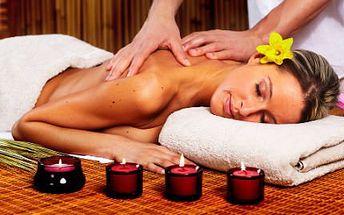 90minutová relaxační masáž! Uvolněte svaly a zažeňte stres relaxační masáží!