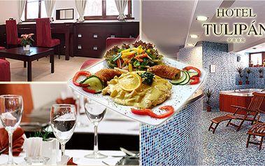 Luxusní 3 - denní pobyt s plnou penzí a volným vstupem do wellness zóny v Hotelu Tulipán**** ve Vysokých Tatrách! Hotel patří mezi 30 nejlepších hotelů na Slovensku!