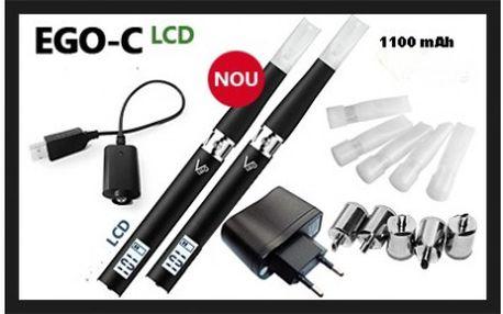 Nejlevněji v ČR! Úžasných 799 Kč za sadu 2 kusů elektronické cigarety eGo-C, s baterií 1100 mAh! Dle uživatelů se jedná o nejlepší cigaretu ze série eGo! Zároveň s nákupem máte možnost výhry relaxačního pobytu!