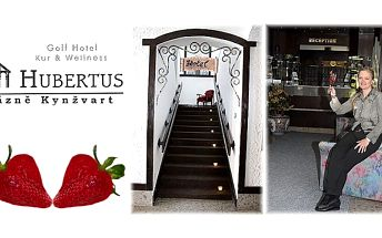 Lázeňský romantický wellness pobyt plný pohody pro 2 v hotelu hubertus v lázních kynžvart s polopenzí!