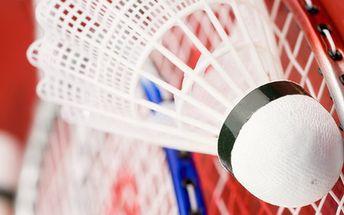 169,- Kč za badmintonovou soupravu De Luxe - pro letní hrátky v parku, na zahradě - v přírodě! Sleva 43%!