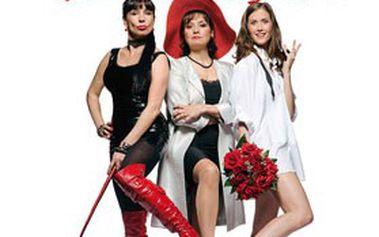 """Vstupenka na činohru """"Včera tě zabiju!"""" Brilantní komedie o souboji tří žen se šíleným vrahem za pomoci stroje času. Hudební divadlo KARLÍN – již 5. a 6. června 2012!"""