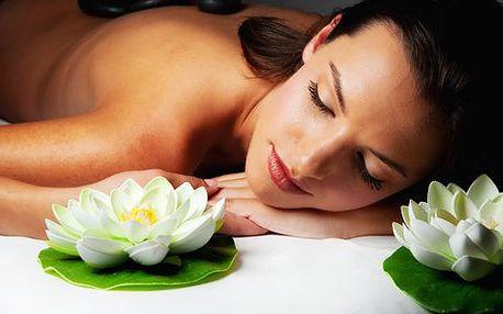 Rolls Royce masáž celého těla. Celkem 90 minut neskonale příjemných procedur - medová masáž zad, masáž hlavy, lávové kameny a masáž plosek nohou!
