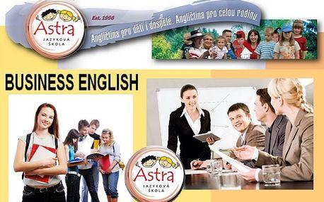 2 388 Kč za jazykový kurz Business English a příprava na přijímací pohovor. Výběr termínů na červenec a srpen pro mírně pokročilé až středně pokročilé. Přijďte se připravit na svůj přijímací pohovor nebo se zdokonalit v obchodní angličtině. Jazyková škola ASTRA Vás pomůže a Vy se budete cítit sebejistí! 20 vyučovacích hodin v počtu 5-6 osob!