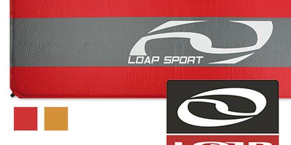 Samonafukovací karimatka LOAP – s protiskluzovou úpravou, 2 barevné varianty