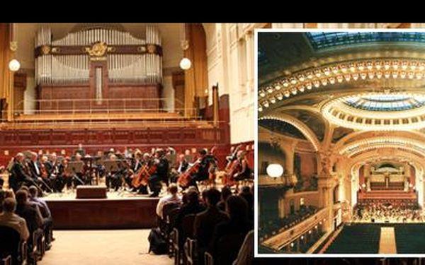 Získejte limitované vstupenky na výjimečný koncert vážné hudby v pražském Obecním domě a zaposlouchejte se do Mozarta či Dvořáka! Se slevou 68 % ušetříte 810 Kč!