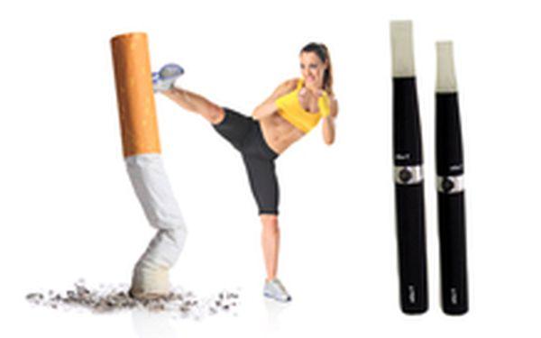 629 Kč místo 1 750 Kč - STOP kouření! Nejoblíbenější e-cigareta eGo-T, baterie 1100 mAh, včetně příslušenství a 5 náplní, se slevou 64 %. Dva kusy a poštovné v ceně!