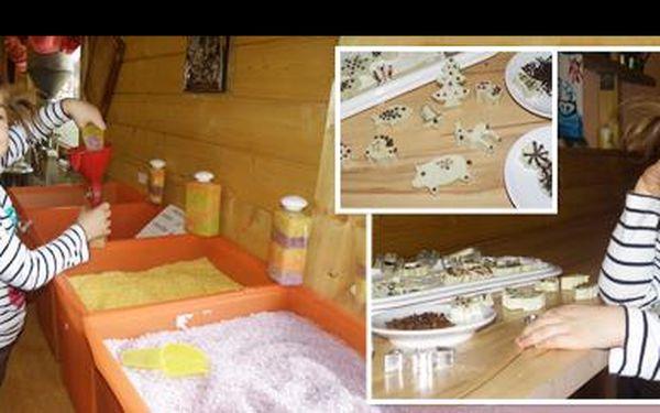 Udělejte radost vaší ratolesti za 39 Kč: Navštivte svíčkárnu a nechte vaše děcko si vlastnoručně vyrobit mýdlo + návštěva přilehlé zvířecí minifarmy + občerstvení!