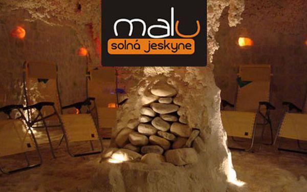 Prospějte svému tělu i duši, a to dokonce dvakrát! Solno-jodová jeskyně Malu v Brně pro vás za zlomek ceny! 90 Kč za dva vstupy s HyperSlevou 62 %!