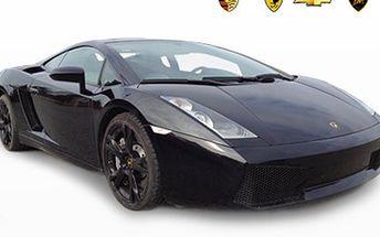 30 min JÍZDA v supersportu- FERRARI, PORSCHE... Jízda v supersportu zahrnuje instruktáž, pojištění i kauci. Vyberte si vůz a usedněte za volant třeba Porsche 911 GT3 či Arielu Atom. Adrenalinový zážitek nejen pro muže.