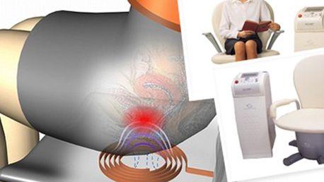 POSÍLENÍ VNITŘNÍCH SVALŮ pánve: 20 minut terapie na Biocon 2000W Nejmodernější metoda posílení vnitřních svalů pánve. 20 min při potížích ochablého svalstva, inkontinenci, poruchách erekce, prostatických potížích či jiných dysfunkcích.