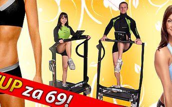 """Bezkonkurenčních 69,- Kč za hodinový vstup na ALPINNING """"Indoor Walking"""" program - HIT mezi aerobními cvičeními. Nejúčinnější aerobní cvičení současnosti Vám umožní energetický výdaj až 3500 KJ za lekci! Naordinujte si zdravý a především bezpečný pohyb! Cvičení je určené pro všechny věkové kategorie."""