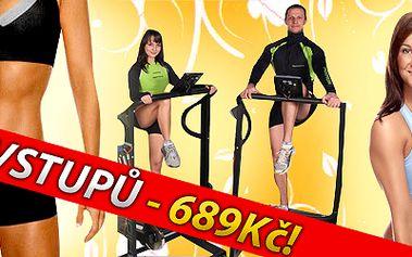 """Jen 689Kč za 10 hodinových vstupů na ALPINNING """"Indoor Walking"""" program - hit mezi aerobními cvičeními. Nejúčinnější aerobní cvičení současnosti Vám umožní energetický výdaj až 3500 KJ za lekci! Naordinujte si zdravý a především bezpečný pohyb! Cvičení je určené pro všechny věkové kategorie."""