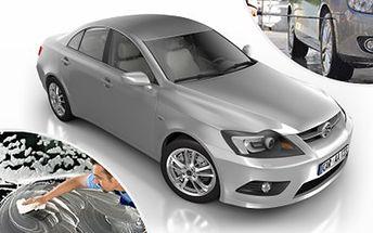 Precizní RUČNÍ MYTÍ automobilu včetně ošetření oděrek v laku Nechejte si umýt karoserii Vašeho vozu, vyčistit mezidveřní prostory i ošetřit lak. Svěřte svůj vůz do rukou profesionálů a dopřejte mu patřičnou péči.